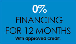 0% Financing for 12 months with approved credit at Ted's Abbey Carpet