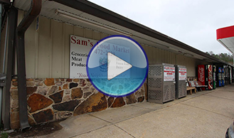 Sam's Food Market - Commercial Luxury Vinyl Plank - Project by Ted's Abbey Carpet & Floor in Anniston, Alabama